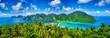 Leinwandbild Motiv Panorama of tropical islands