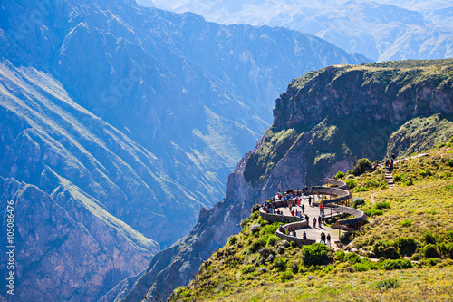 Photo Stands South America Country Colca canyon