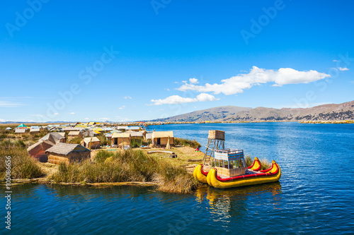 Recess Fitting South America Country Titicaca Lake