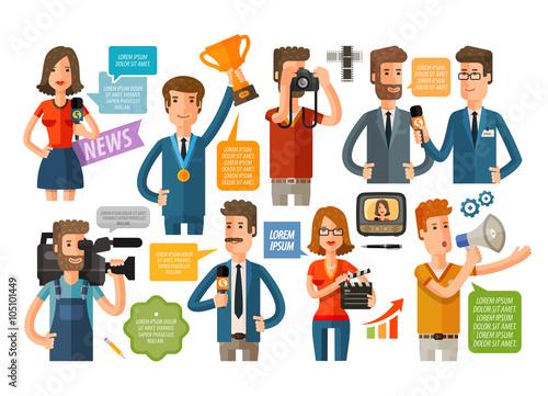 Fotografia, Obraz  business infographics