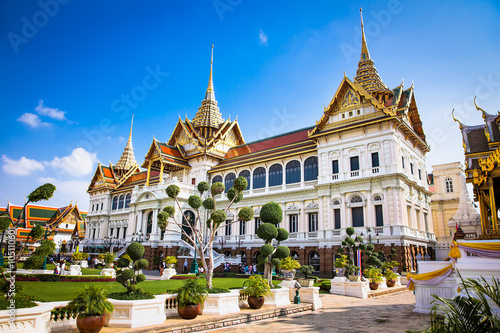 Photo  Grand Palace in Phra Nakhon, Bangkok, Thailand.