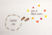 Comfort Zone Vs Where The Magi...