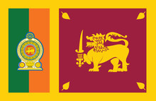 Sri Lanka Flag.