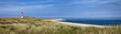 canvas print picture - Sylt Ellenbogen Strand Panorama
