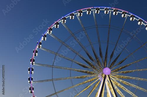 Deurstickers Antwerpen Big wheel, Paris, Ile-de-france, France