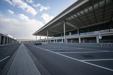 Parkplatz Vor Flughafen