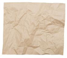 Crumpled Brown Paper