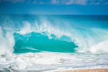 激しい大波,ハワイのノースショア