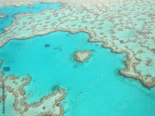 Australijskie Światowe Dziedzictwo, Wielka Rafa Koralowa Rafa Serca