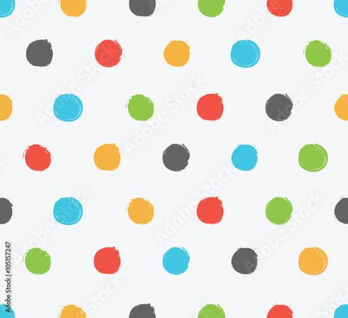 grunge-polka-dot-doodle-wzor