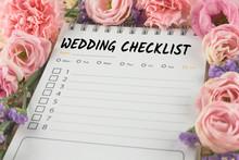 Word Wedding Checklist Note Pa...