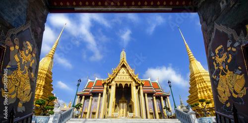 Wat Phrakaew Temple, Bangkok, Thailand Poster