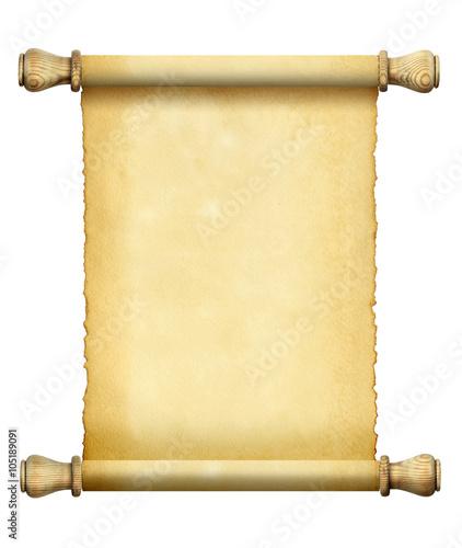Scroll of old paper © Vladimir Tyutin