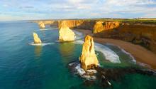 Aerial View Of Twelve Apostles - Port Campbell, Australia