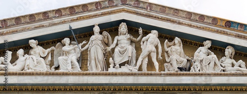 Photo  Zeus, Athena and other ancient Greek gods and deities