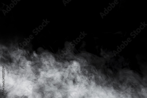 Deurstickers Rook Abstract Smoke and Fog background