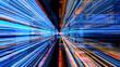 canvas print picture - Futuristic Digital Light Technology 10804