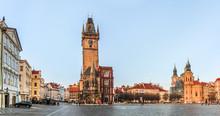 Panorama Of The Prague Old Tow...