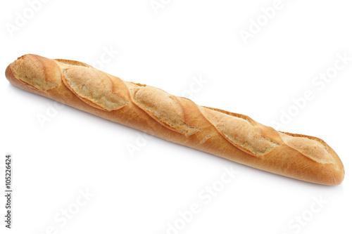 Fotografie, Obraz  Französisches Bagutte Brot Weißbrot Freisteller freigestellt i