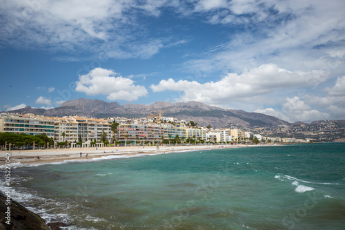 Photo Stands Algeria Coastal Line Seascape
