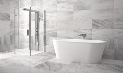 Obraz na płótnie Canvas modern bathroom