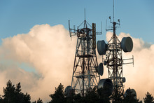 Communication And Transmission Tower For Military Use