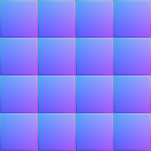 T011 Seamless Texture - Stone Tile - Normal Map