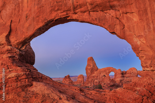 Keuken foto achterwand Diepbruine Arches National Park in Utah, USA
