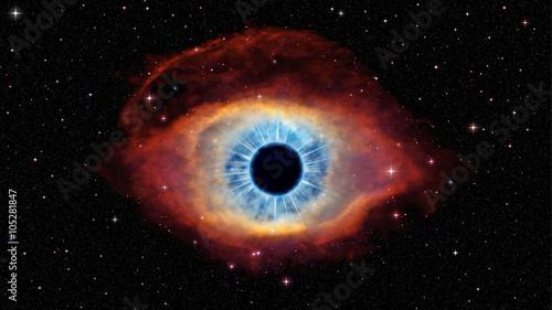 Fotografie, Obraz  Eye of God in nebula Helix