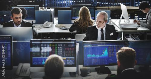 Valokuva  Business Team Investment Entrepreneur Trading Concept