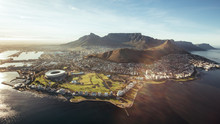 Aerial View Of Cape Town, Sout...