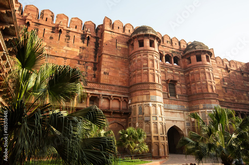 The Agra Fort in Agra Wallpaper Mural