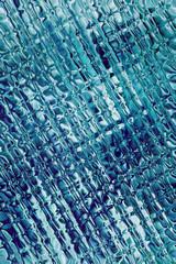 Tło szklane niebieskie