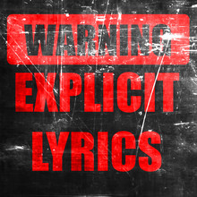 Explicit Lyrics Sign
