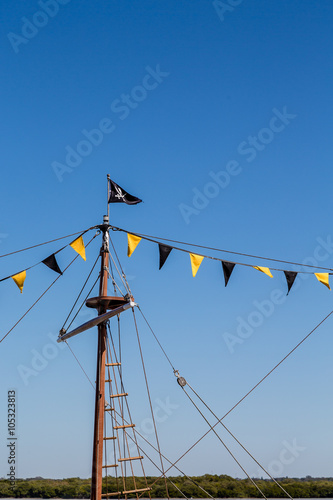 Photo  Mast on Pirate Ship