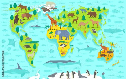 mapa-swiata-z-wykorzystaniem-zabawnych-kreskowek