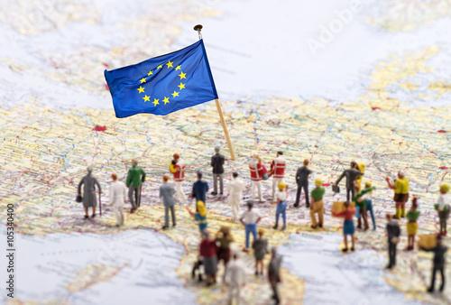 Obraz Ziel Europa - fototapety do salonu