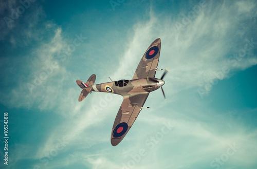 Fototapeta Battle of Britian scene