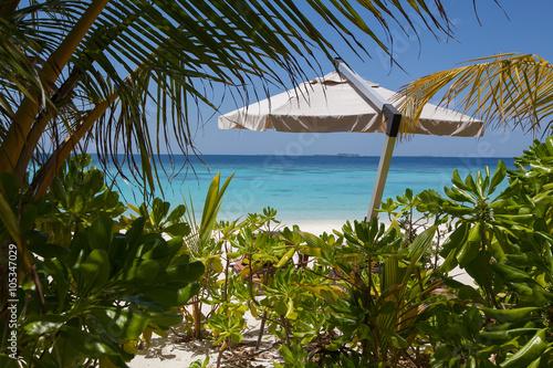 Spoed Foto op Canvas Nieuw Zeeland the tropical lagoon
