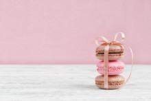 Sweet Pastel French Macaroons