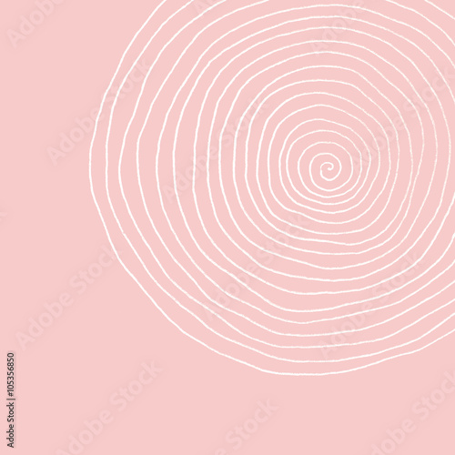 Fotografie, Obraz  spiral - pastel tones - abstract swirl background