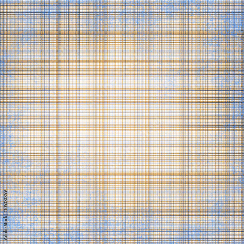 Fotografie, Obraz  Caledonian pattern. brown, blue