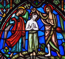 Baptism of Jesus by Saint John the Baptist