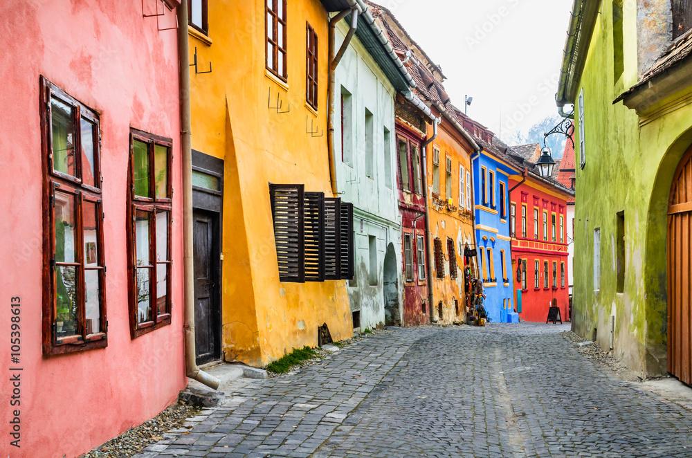 Fototapety, obrazy: Sighisoara, Romania
