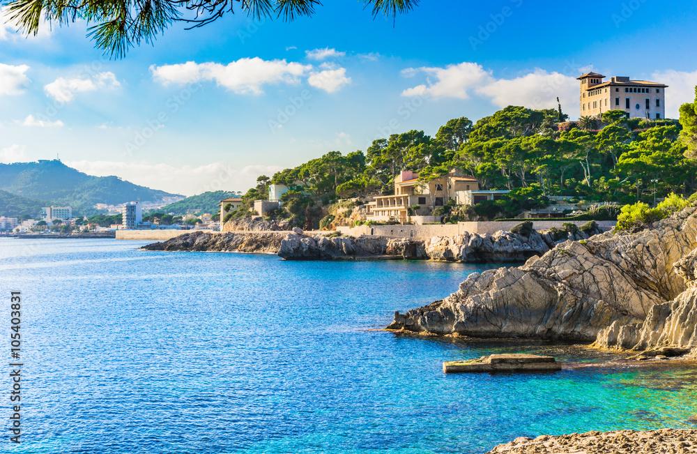 Fototapety, obrazy: Seaside of Cala Ratjada Majorca Spain