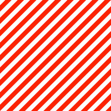 Abstract Background With Red Diagonal Lines On White. Vector Cov
