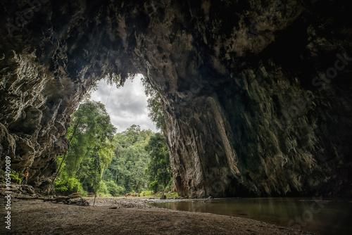 Lod cave in Mae Hong Son Thailand