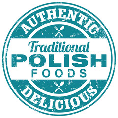 Fototapeta Do restauracji polish foods