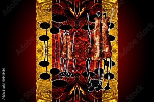 ilustracja-afryka-retro