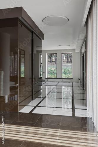 Foto op Plexiglas Trappen Luxury hall interior